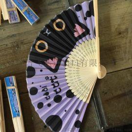 FD-1612267卡通风仿真丝竹扇 舞蹈工艺扇 外贸出口扇批发