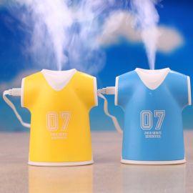 USB加溼器 迷你球衣超聲波加溼器 創意空氣淨化器 補水神奇批發