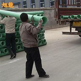 河北枣强专业生产玻璃钢电缆穿线管DN175玻璃钢电力电缆复合管道