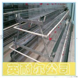 2米蛋鸡笼|英耐尔三层四门阶梯式蛋鸡笼|加粗肉鸡笼