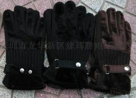 保暖手套 跑江湖保暖手套 仿皮手套 PU手套 地摊手套