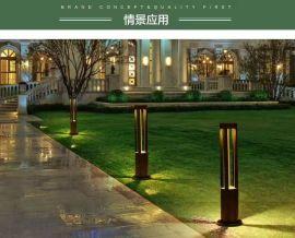 LED草坪灯 户外别墅区景观灯 底板固定COB草坪灯简约版 厂家直销