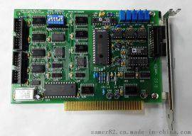 研华PCL-711B数据采集8路25KHz多功能DAS卡ISA总线8路模拟量输入
