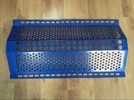 山西保德县煤场专用优质金属防风抑尘网 专业设计施工安装