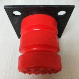 100%国标缓冲器 行车防撞缓冲器 C型聚氨酯缓冲器 65*80红色减震块