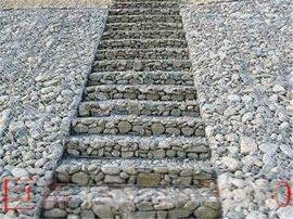 护岸护坡铅丝笼网箱 加固拧花网 PVC石笼格宾网