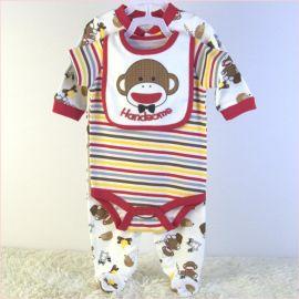 新生儿外贸哈衣尾货婴儿外贸服装尾单