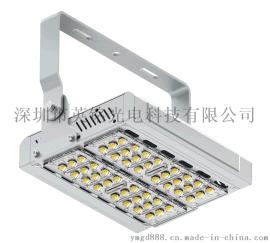 100W高杆燈 戶外道路高杆照明投射投光燈 圓形高柱轉盤LED高杆燈50W150W200W250W300W