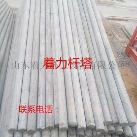 12米190杆非预应力水泥电线杆报价  12米水泥电线杆多少钱一根