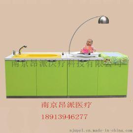 妇幼医院不锈钢婴儿洗澡台 洗婴护理台