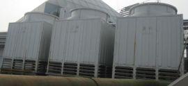 圆形逆流式玻璃钢冷却塔,方形横流式顶出风型玻璃钢冷却塔,方形横流式