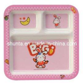 儿童三格餐皿BG823