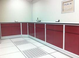 全钢中央实验台 实验室全钢实验台边台