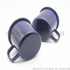 搪瓷杯马克杯定制logo水杯礼品广告创意咖啡杯搪瓷茶杯定制