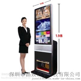 商場高清液晶擦鞋廣告機 酒店大廳電梯口高端廣告擦鞋機