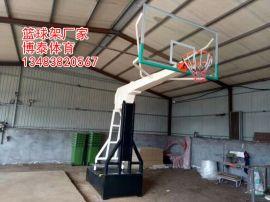 海口165圆管篮球架安装位置 方管篮球架高度