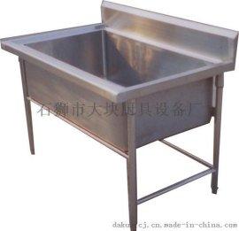 泉州厨房水池 不锈钢水槽 厨房设备 洗涤池 大块定制生产