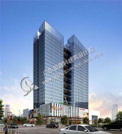 德俊中心商业办公楼建筑设计