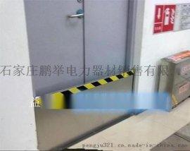 供电所专用门挡50*100mn不锈钢挡鼠板定做 河北益光厂家