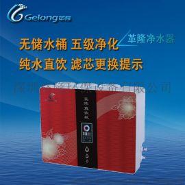 十大品牌净水器代理加盟革隆家用直饮水机