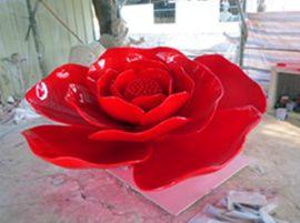 玫瑰花雕塑 廊坊植物雕塑厂家 衡水植物雕塑图片