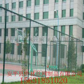 草绿色学校体育场护栏网