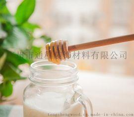 蜂蜜木搅棒 绿色环保木质咖啡搅拌棒 奶茶搅拌棒 果酱搅拌棒 家居木制品订制
