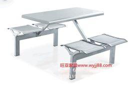 厂家批发不锈钢快餐桌椅、不锈钢食堂餐桌、不锈钢餐桌椅生产商
