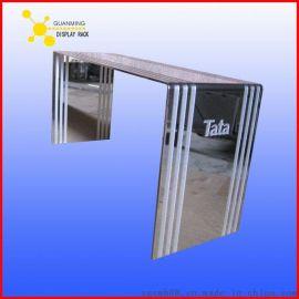 佛山定制不锈钢展示柜,不锈钢小广告展示牌