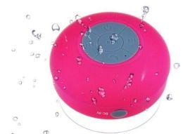 BTS-06防水吸盤無線藍牙音箱浴室小音響戶外便攜免提通話低音炮