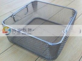 标准清洗篮@超声波清洗篮@不锈钢网篮规格齐全