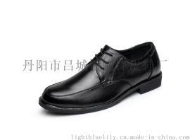 廠家批發男士皮鞋子真皮 男鞋軟底 商務皮鞋男青年單鞋3608