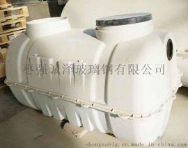 湖北鄂州厂家直销成品玻璃钢化粪池环保隔油池