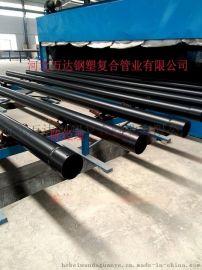 涂塑防腐钢管电缆套管厂家直销电力内外涂塑钢管
