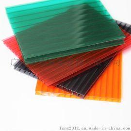 PC中空板 市政工程专用PC板 聚碳酸酯阳光板 厂家直销