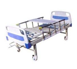 KL-A04-ABS床头摇便餐桌带轮双摇床ABS床头双摇床
