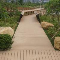 生態木塑地板批發140H25B空心木塑地板 木塑戶外地板 木塑新型材料