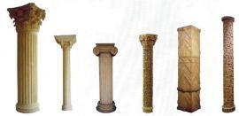 中式人造砂岩华表柱龙柱雕塑定做厂家