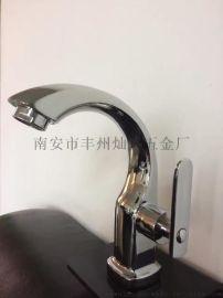 厂家直销单孔面盆水龙头冷热台盆水龙头