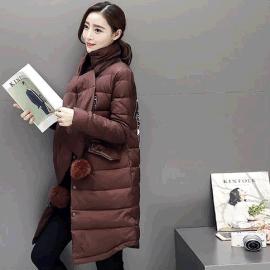 时尚爆款欧韩版轻薄羽绒服修身精品女装尾货一手货源折扣走份批发