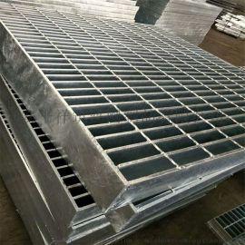 电厂通道平台镀锌插接钢格栅盖板