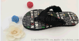 【厂家直销】夏季韩版沙滩鞋 拖鞋 人字拖 简约时尚百搭外穿