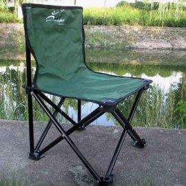 便携户外折叠椅子钓鱼垂钓用品凳子野营野外靠背马扎折叠凳大号