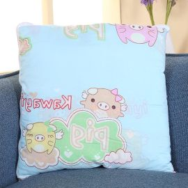 创意新品多功能卡通抱枕被办公室靠垫抱枕儿童午休毯厂家直销批发