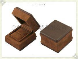 星展包装定制高档木盒W1091PU皮木纹首饰包装盒