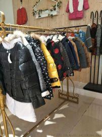 广州品牌童装货源哪里找 欣芭可冬装 新款韩版儿童外套批发 品牌折扣童装尾货库存走份清仓