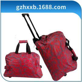 外貿廠家直供廣州獅嶺男女布類拉杆箱拖輪旅行箱軟箱行李箱包