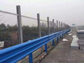 内蒙古热镀锌喷塑双波板价格 公路波形防撞护栏多少钱一米