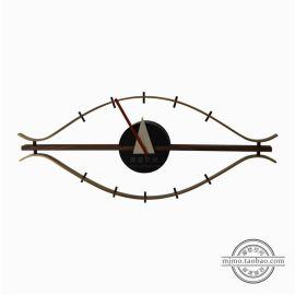 nelson eye clock. Black Bedroom Furniture Sets. Home Design Ideas
