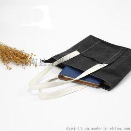 文藝棉布袋子 環保手提帆布袋定做全棉印花禮品袋 購物袋批發